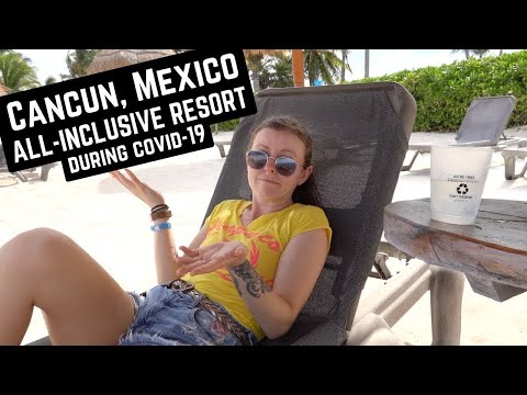 VACATIONING IN CANCUN DURING COVID