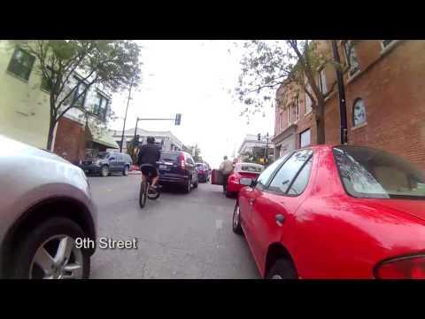 A ride through Downtown Columbia MO