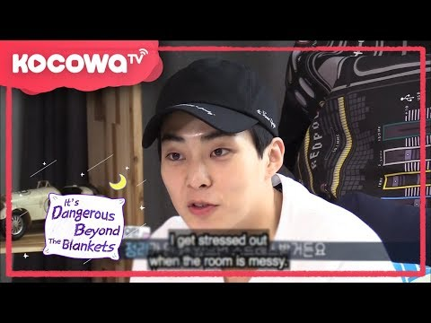 [It's Dangerous Beyond the Blankets] Ep 2_EXO Xiumin is a neat freak