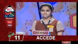 Spell Bee- India Spells 2012 - 1/2