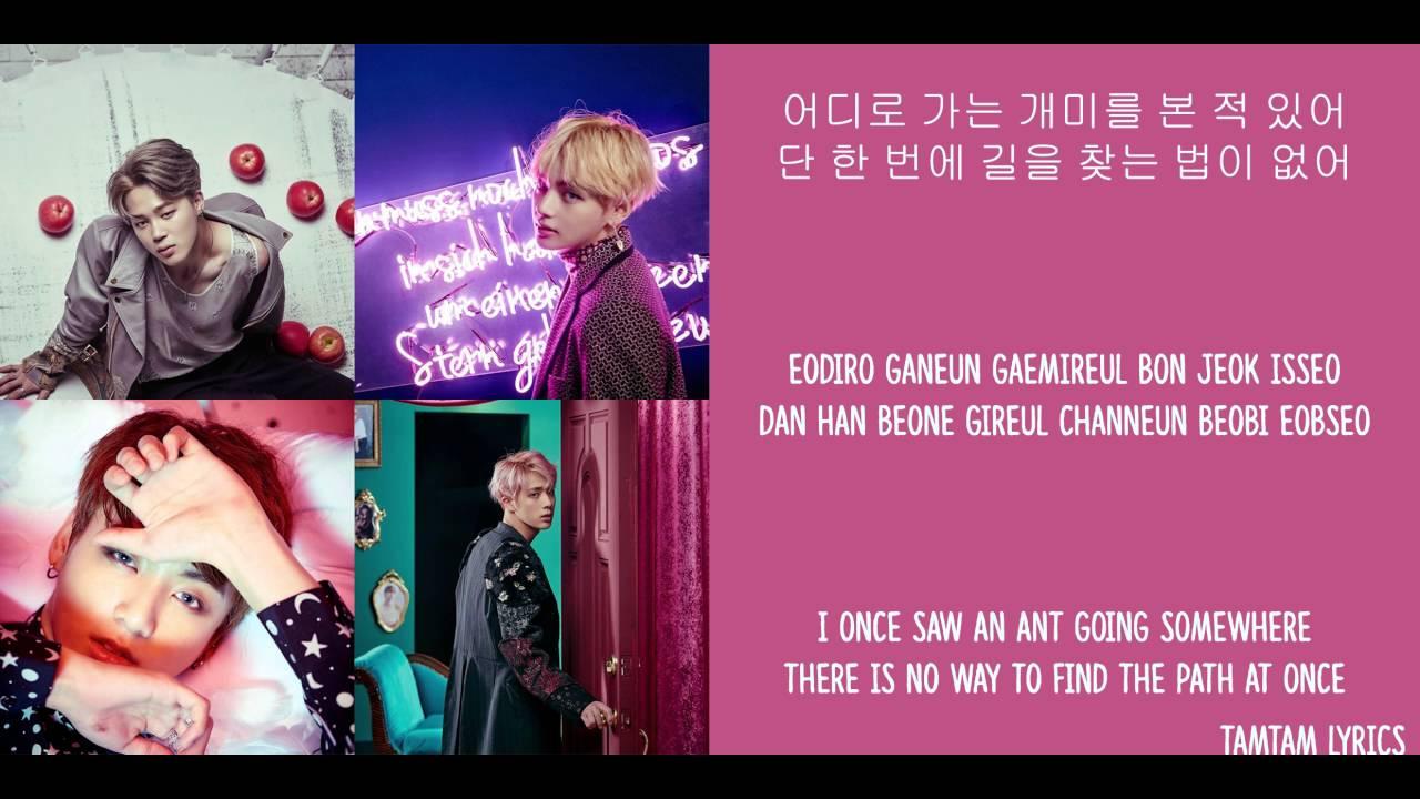 Lost - BTS Lyrics [Han,Rom,Eng] - YouTube