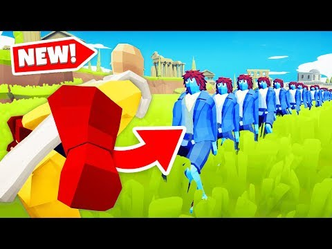 How Many Can NEW One Punch Man ONE SHOT IN TABS? (Totally Accurate Battle Simulator Funny Gameplay)