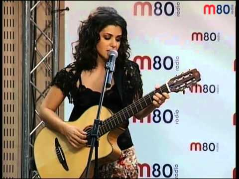 Katie Melua - Nine million bicycles (live...