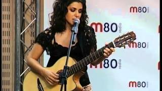 Katie Melua - Nine million bicycles (live at radio m80)