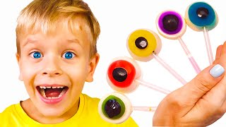 Color song with Fruit Candy   Nursery rhymes and Kids song