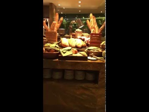 Amazing Breakfast Buffet at JW Marriott Marquis Hotel Dubai