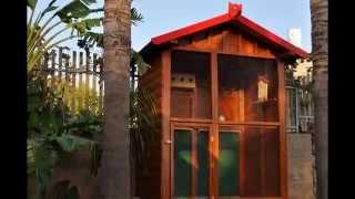 Wooden Bird Cage /כלוב ציפורים