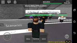 NYPD - (New York Police Department) Training - Roblox Ep. 1