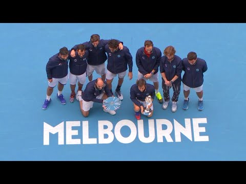 ATP Cup Final Ceremony - Team Russia vs Team Italy | Melbourne Summer Series 2021