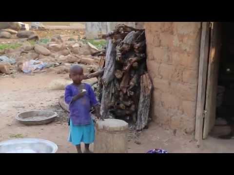 Côte d'ivoire Village traditionnel / Ivory Coast Traditionnal village
