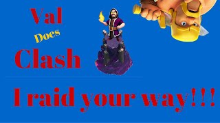 Clash of Clans - Val does your raid (dragons anybody?)- Plus I get punked on defense