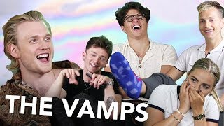 THE VAMPS Hänger med P3 Star