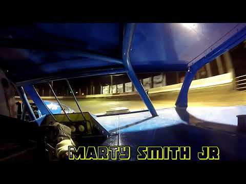 In Car Cam of Marty Smith jr  at Highland Speedway 5-12-18