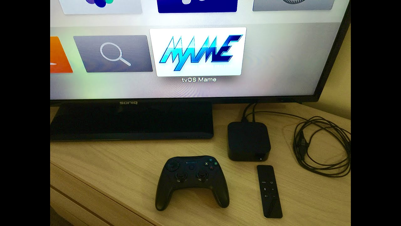 How to play MAME arcade games on Apple TV
