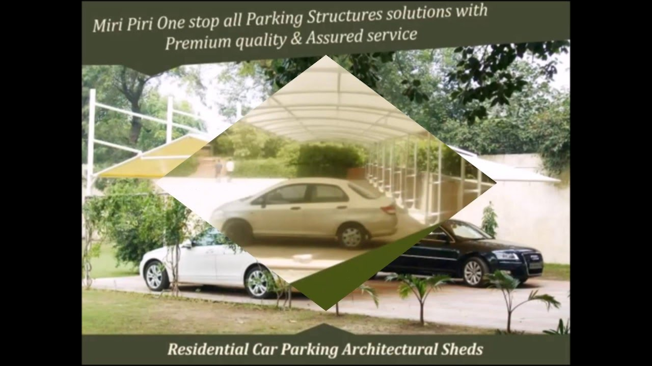 India No 1 Car Parking Sheds Designs Car Parking Shed Models Car