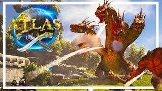 ARK IS RELEASING A NEW GAME - ATLAS! (Reacting to Atlas Trailer/Gameplay)