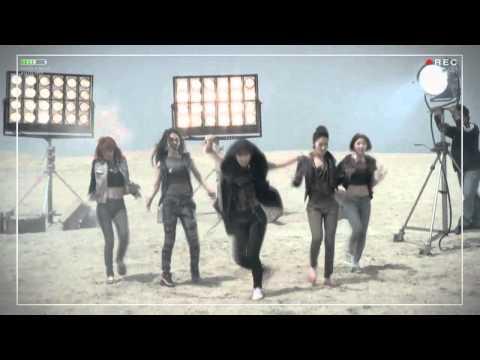 [ENG SUB] 4MINUTE - HUH MV Making Film Part 1