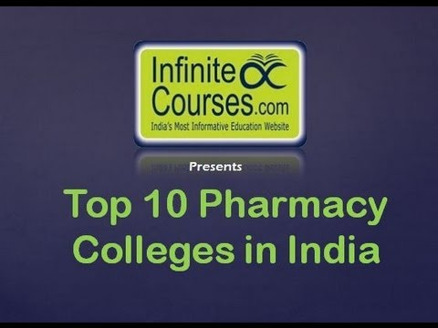 Top 10 Pharmacy Colleges in India