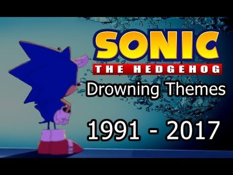Sonic - All Drowning themes (1991 - 2017)