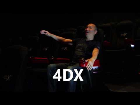 Immersive Theater Experience with ScreenX and 4DX at CGV Cinema