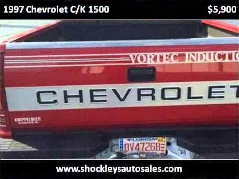 Shockley Auto Sales >> 1997 Chevrolet C/K 1500 Used Cars Poteau OK - YouTube