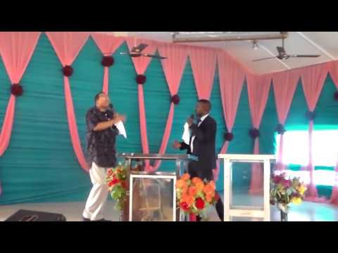 Dr. Ivan Spearman at Assemblies of God Church in Aba, Abia State Nigeria