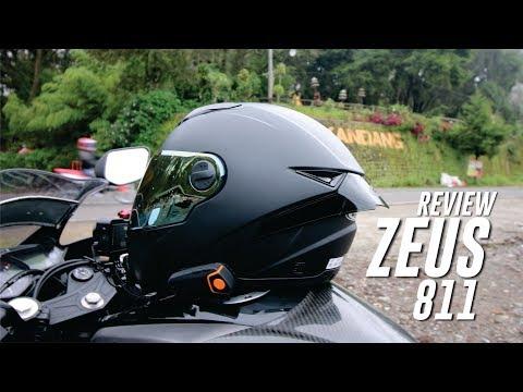 REVIEW HELM ZEUS 811 + SPOILER    HELM 500 RB-AN RASA 2JTAN!!!