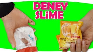 DENEY SLİME - Eğlenceli Slime Challenge | DIY | Fenomen Tv