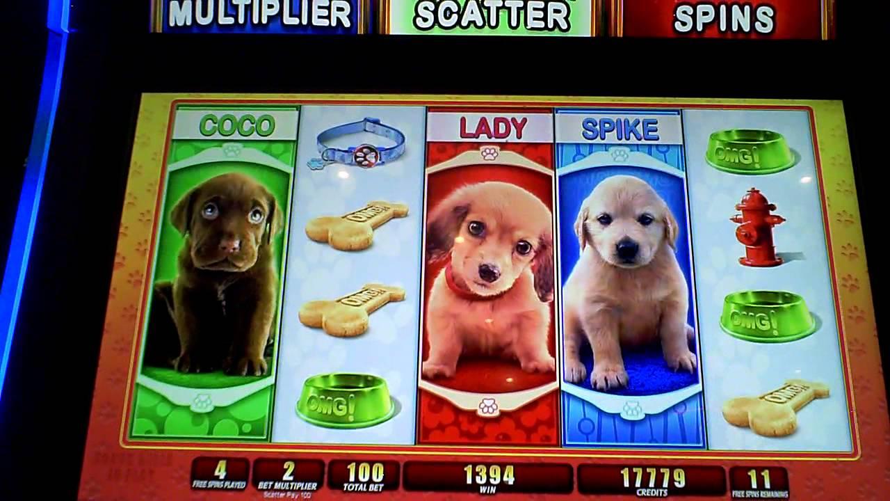 OMG! Puppies Slot Machine