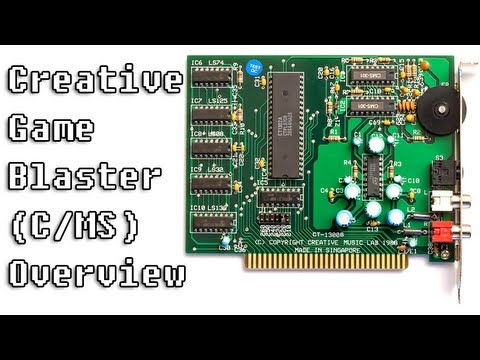 LGR Oddware - Creative Game Blaster / CMS Sound Card