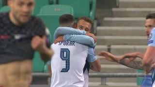 Slovenija vs Hrvatska 1:0   Gol Sandija Lovrića za Pobedu   SPORT KLUB FUDBAL