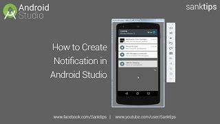 How to Create Notification in Android Studio | Sanktips