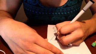 Drawing My First Kewpie!