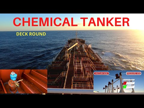 Chemical tanker ship -Walkthrough