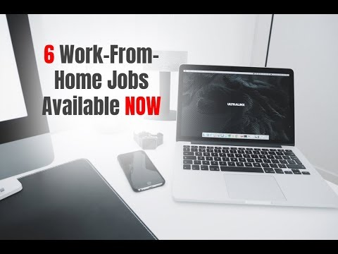 6 Work-From-Home Jobs Available Right Now (4/20/18)