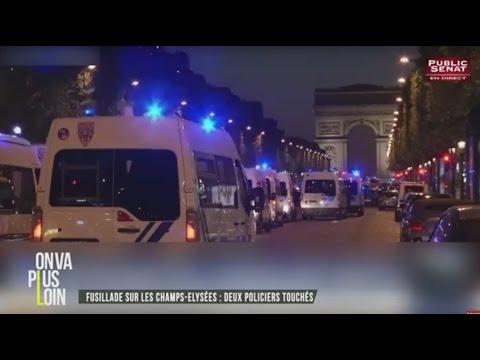 On Va Plus Loin : Champs-Elysées / Présidentielle / F. Hollande / O. Biscave (20/04/2017)