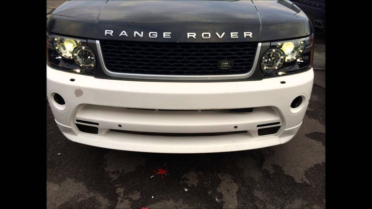 Range Rover Autobiography 2010 >> Range Rover Sport 2012 Facelift Autobiography Body Kit - YouTube