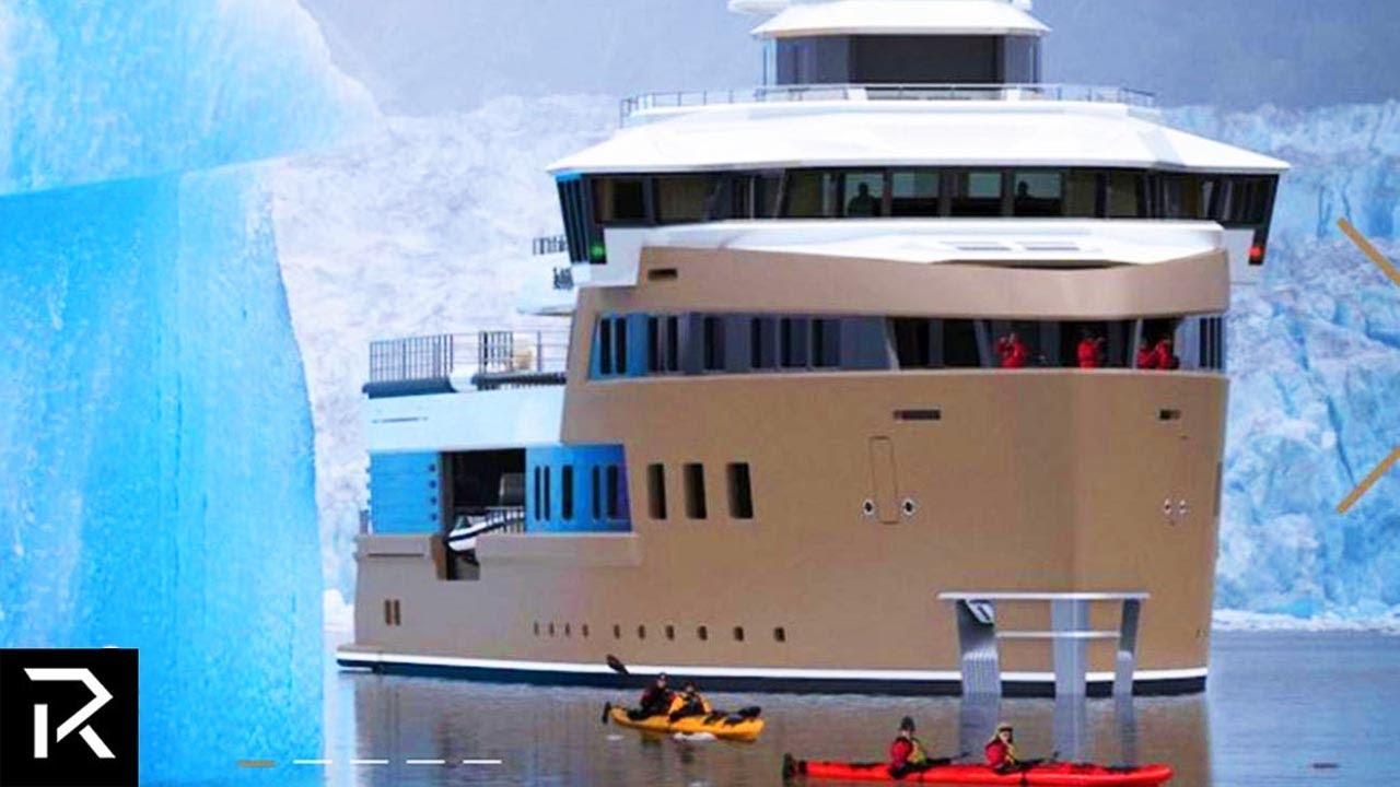 Inside A Russian Billionaire's Mega Ice Yacht