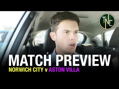 NORWICH CITY V ASTON VILLA - 'LETS KEEP THIS MOMENTUM GOING' - FT. THE VILLA VIEW