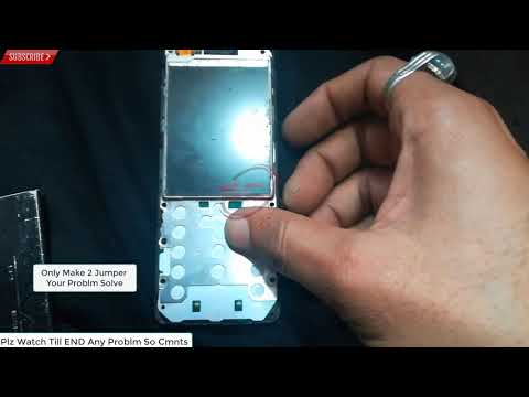 Nokia 206 Display Light Solution LCD Jumper Problem Ways 100% Solve Easy