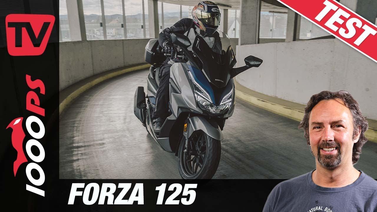 Honda Forza 125 Test 2021 - wie viel Luxus passt in einen Roller?