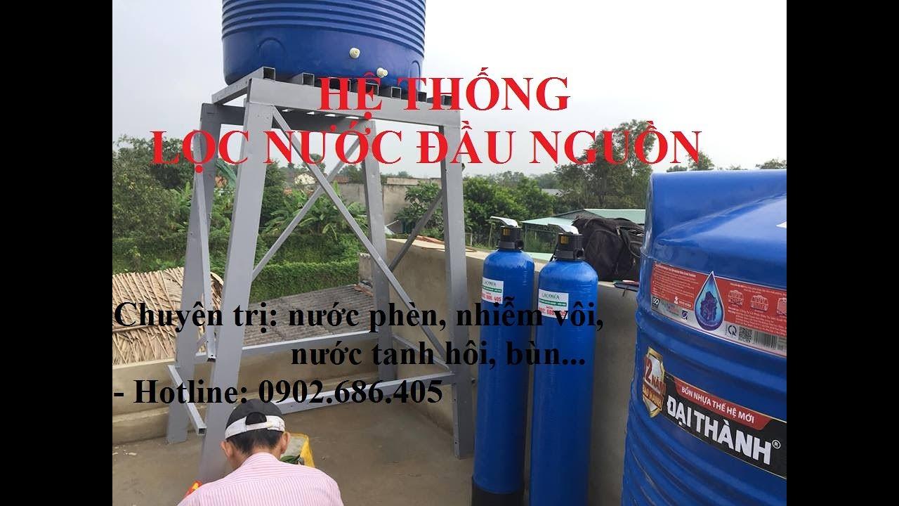 👌👌👌Hệ thống lọc nước đầu nguồn thế hệ mới/ hệ thống xử lý nước nhiễm phèn, nhiễm vôi hiệu quả cao