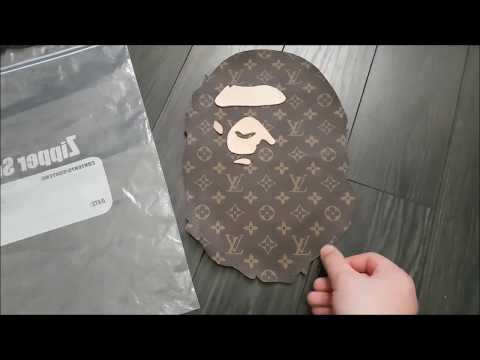 The Story Behind my Louis Vuitton Bape Head