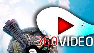 Канатоходцы в Минске. Прогулка по небу в 360 градусов.