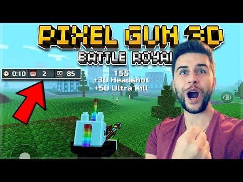 ROAD TO 150 BATTLE ROYALE VICTORY'S!! INSANE SQUADS CHALLENGE | Pixel Gun 3D