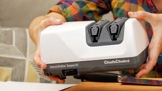 ОБЗОР точилка для ножей  Chef's Choice | Рукавички МанифТВ