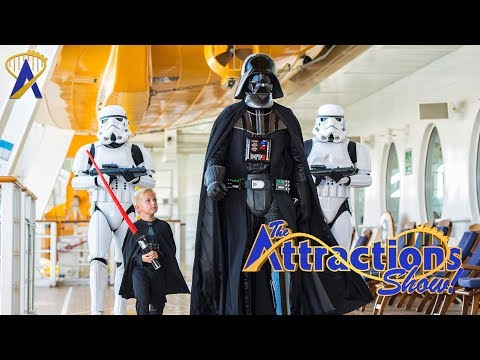 The Attractions Show! - Star Wars Day at Sea; Wheel of Fortune; latest news
