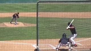 Tim Tebow, OF, Mets (08-30-2016) Pro Workout (Los Angeles, Calif.) thumbnail