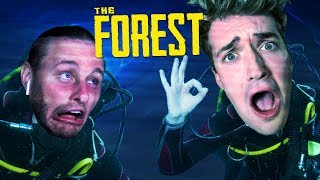 FINDING OUR SCUBA GEAR!! - The Forest #4 W/ SSundee, Chang & Garrett
