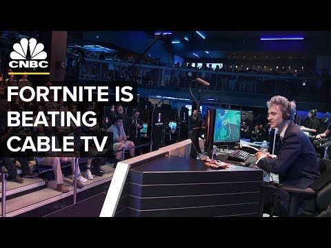 Fortnite Twitch Streams Outdraw Some Of Cable's Biggest Shows | CNBC